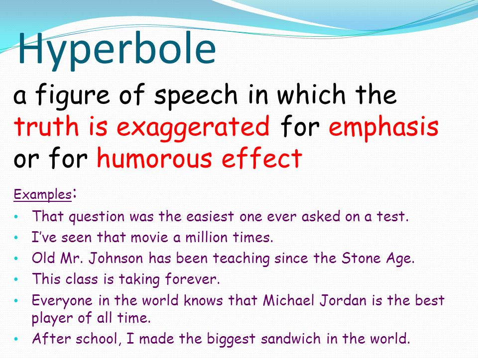 Hyperbole Figure Of Speech Definition And Examples Choice Image