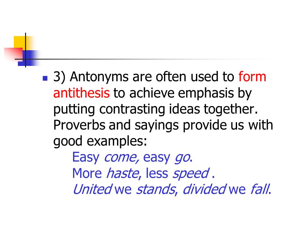 antithesis for disillusionment Antithesis (grammar and rhetoric) glossary of grammatical and rhetorical terms an antithetical observation by roman rhetorician quintilian, quoted by james jasinski in sourcebook on rhetoric.