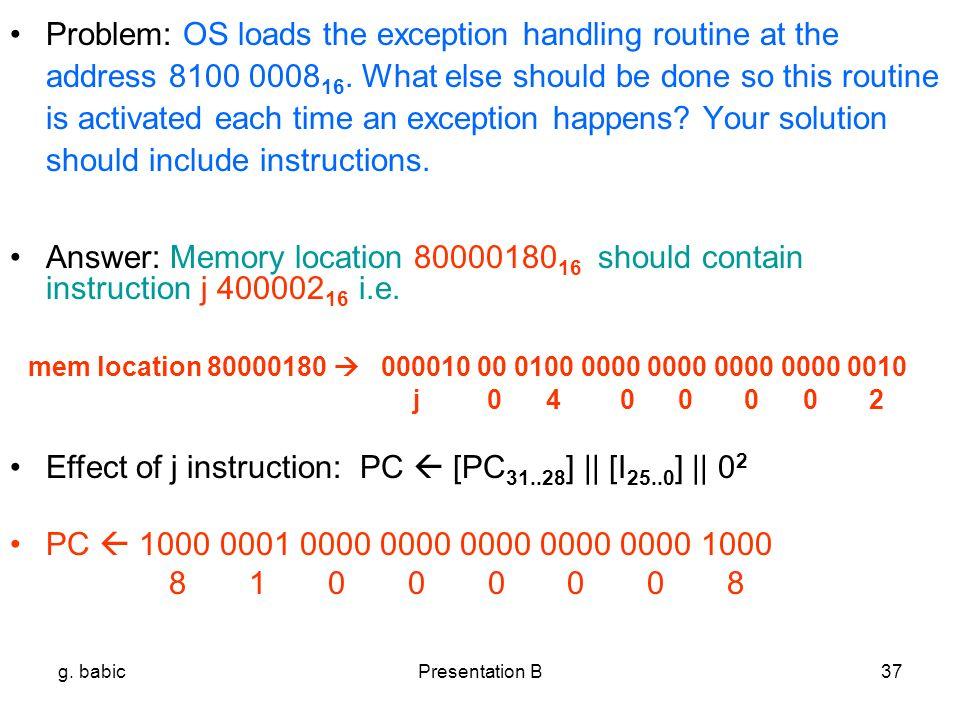 Instruction Set Architecture Of Mips Processor Presentation B Ppt