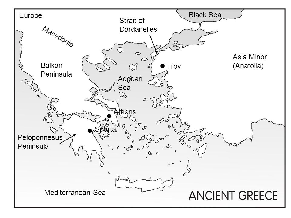 Ancient Greece WHI.5a Geography Pages 1-5 of the notes - ppt ...