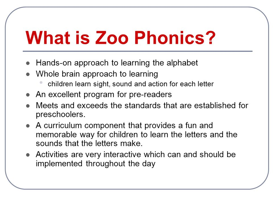 photograph about Zoo Phonics Alphabet Cards Printable identified as Zoo Phonics Trainer Exercising - ppt movie on-line obtain