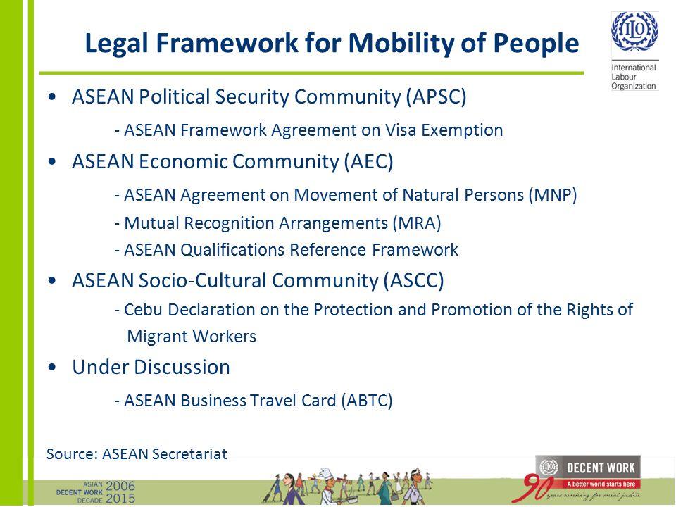 Asean regional integration labour migration ppt download 15 legal framework colourmoves