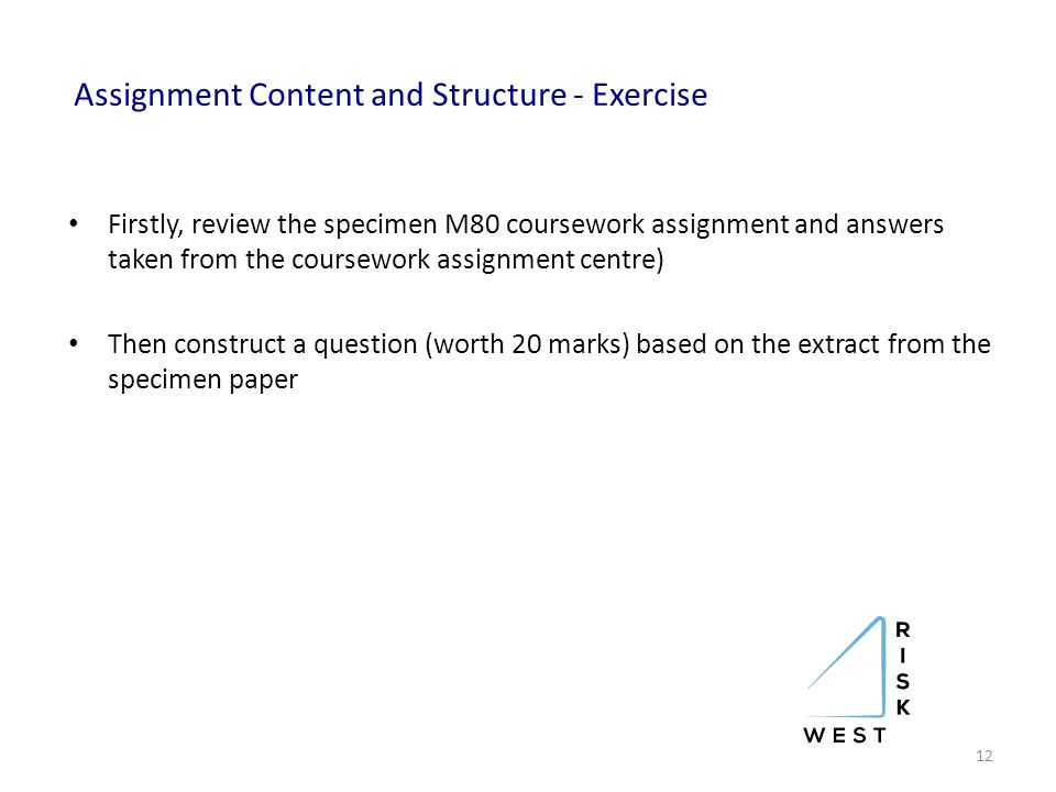 cii coursework assessment guidelines