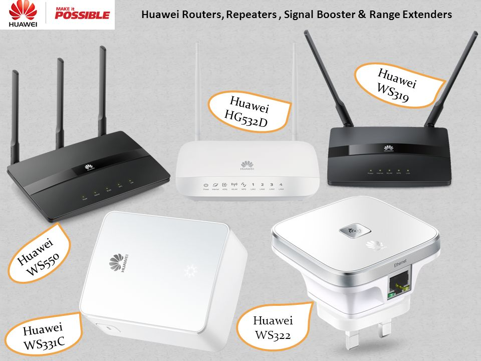 Huawei's Incredible Router Range - ppt video online download