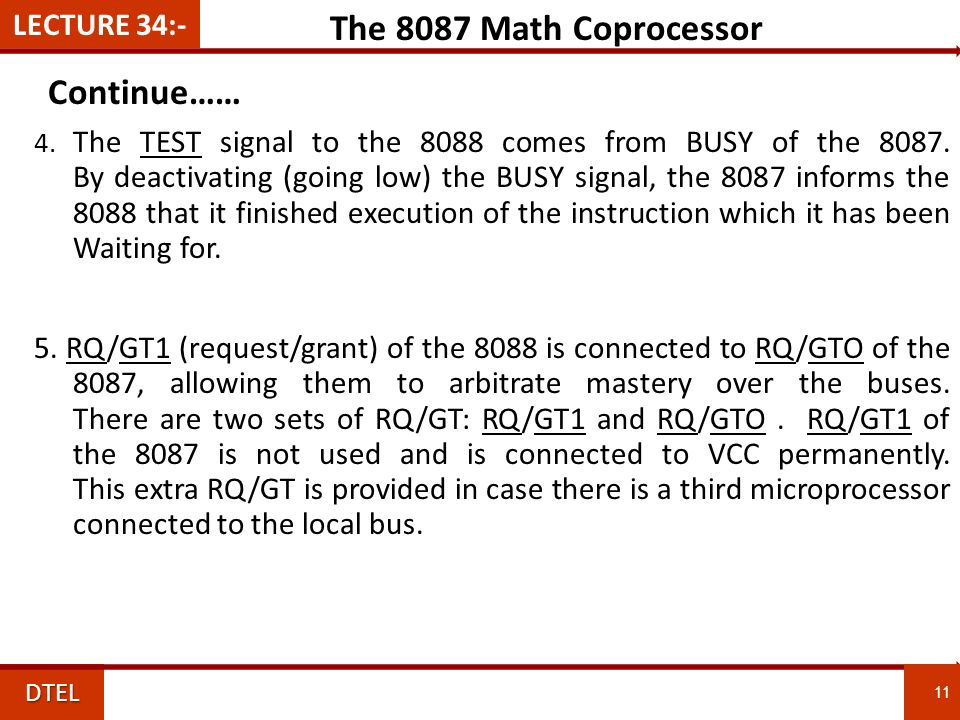 8087 MATH COPROCESSOR EBOOK