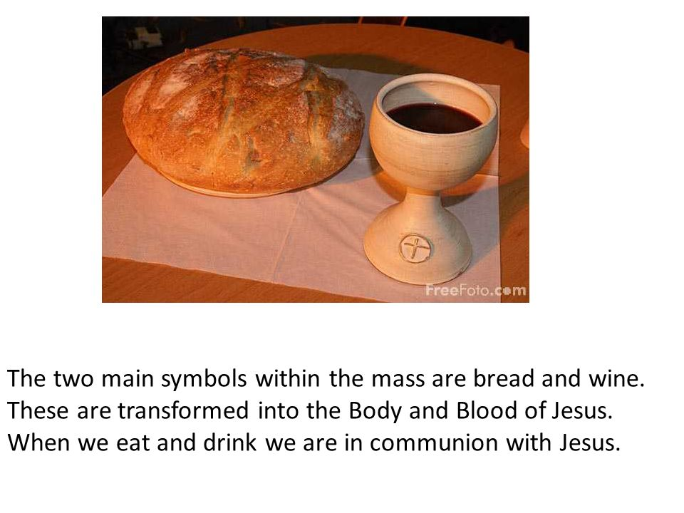 Symbols Of The Eucharist Ppt Video Online Download