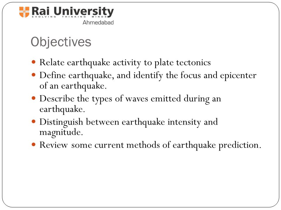 Earthquakes  - ppt video online download