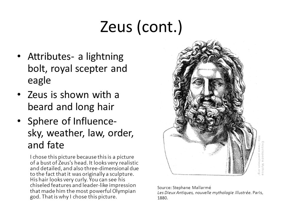 3 Zeus Cont Attributes A Lightning Bolt
