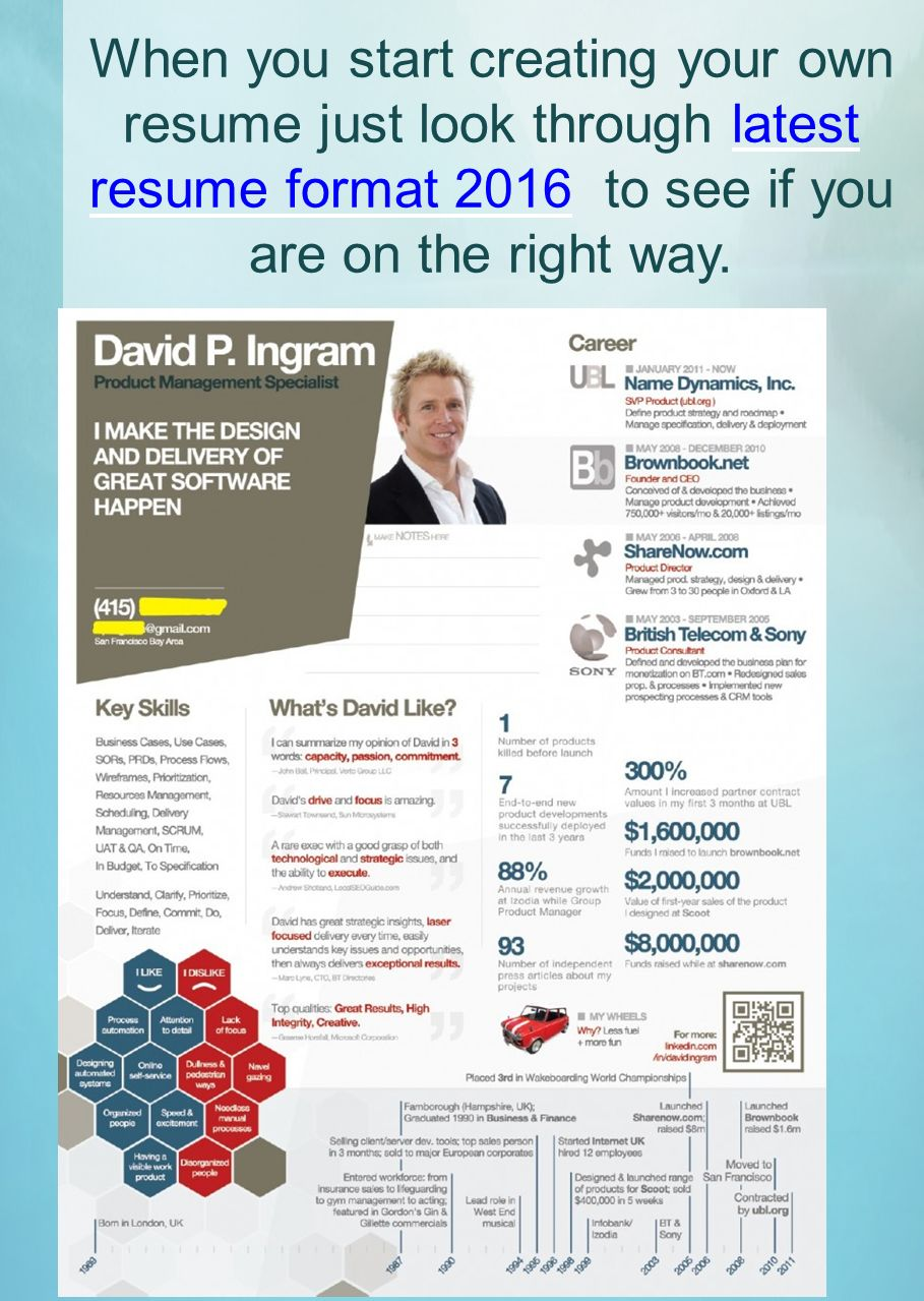 Whatu0027s New In Resume Templates 2016. 2 When ...