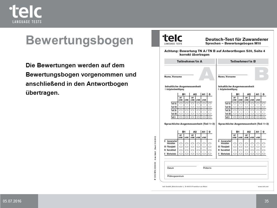 Prüferqualifizierung Deutsch-Test für Zuwanderer - ppt download
