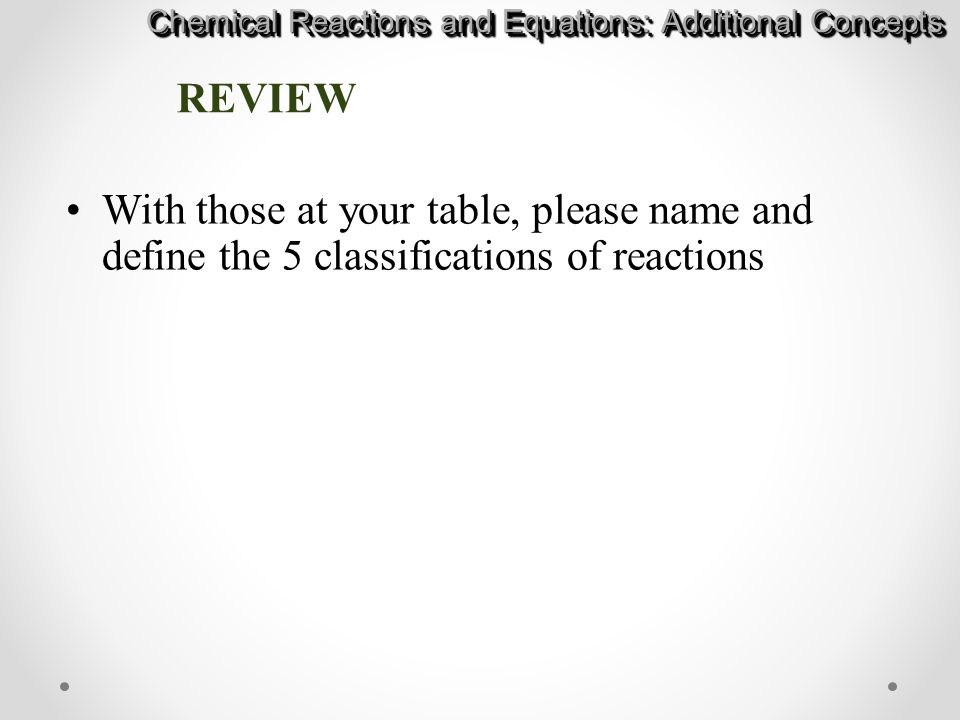 Chapter 10: Chemical Reactions and Equations - ppt video online download