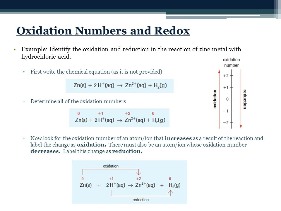 Today's Objectives: Define oxidation number - ppt video online download