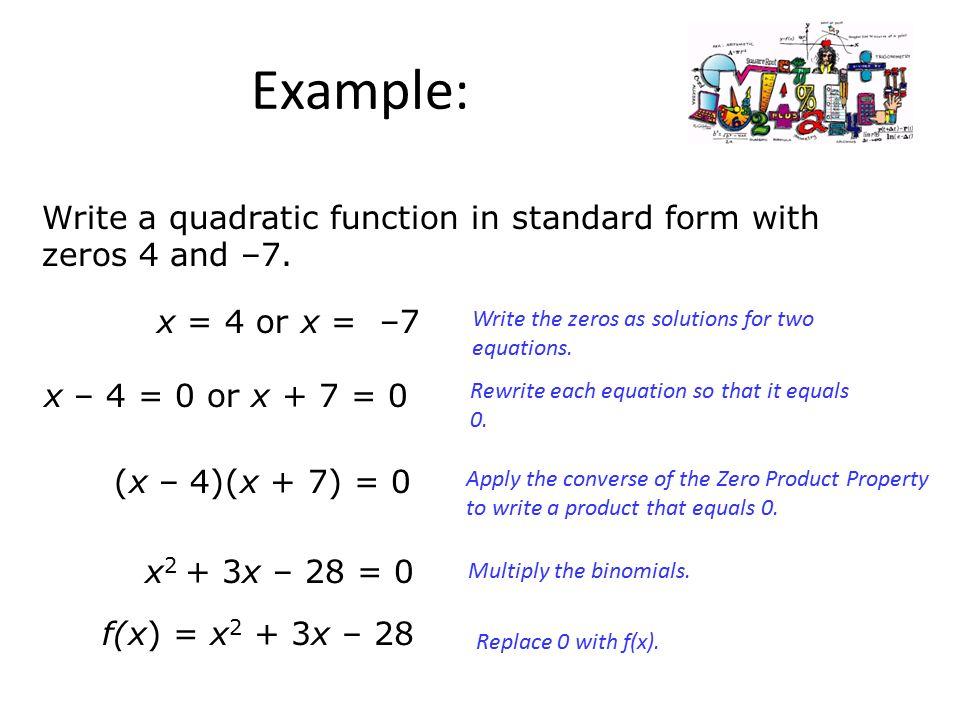 Quadratic Equations Lesson 4 5 Part 1 Ppt Download