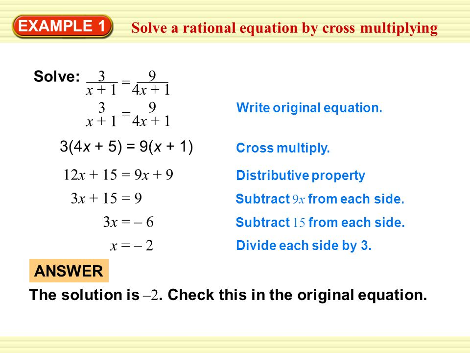 Solve The Equation 1 4 X X X 4 3 X 4 X Answer Ppt Video Online Download