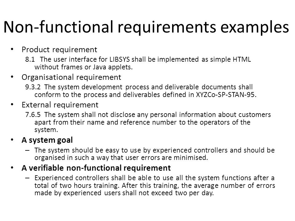 Software Requirements Analysis And Specification Ppt Download - Product requirements document example