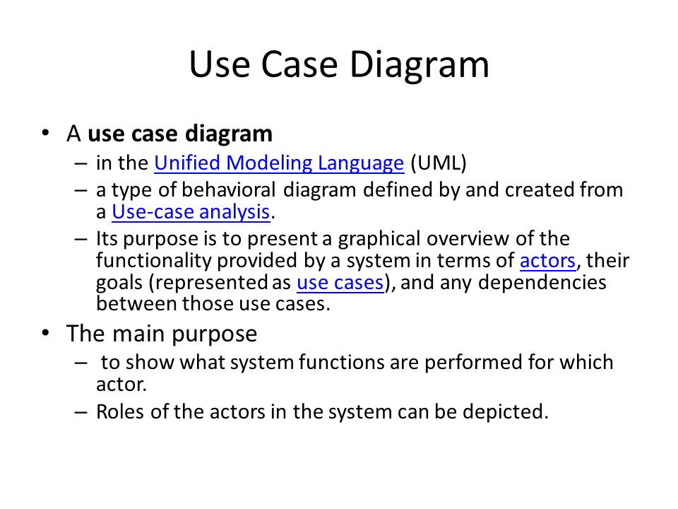 Purpose of use case diagram trusted wiring diagrams software requirements analysis and specification ppt download rh slideplayer com explain use case diagram explain use case diagram with example ccuart Gallery
