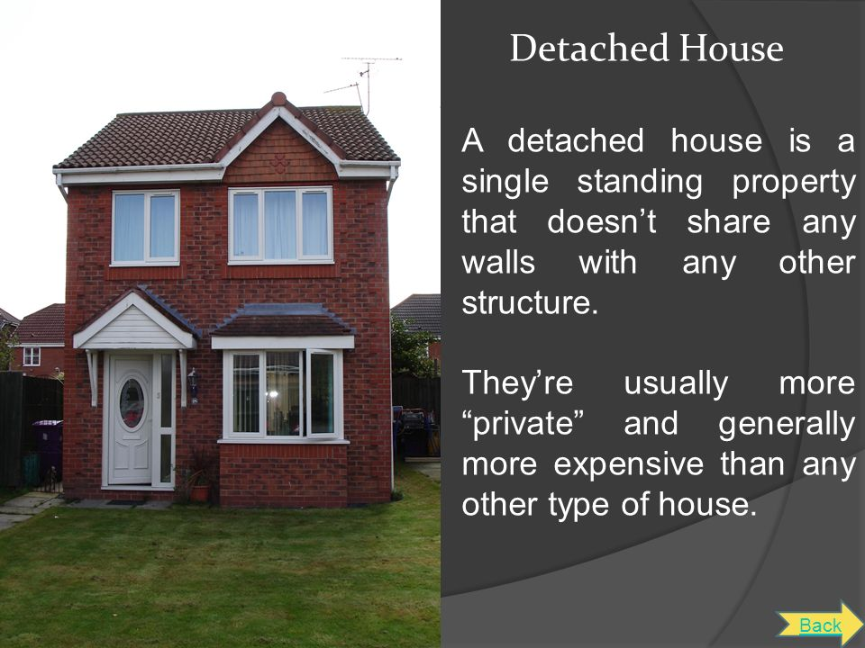 Types of houses in the UK - ppt download