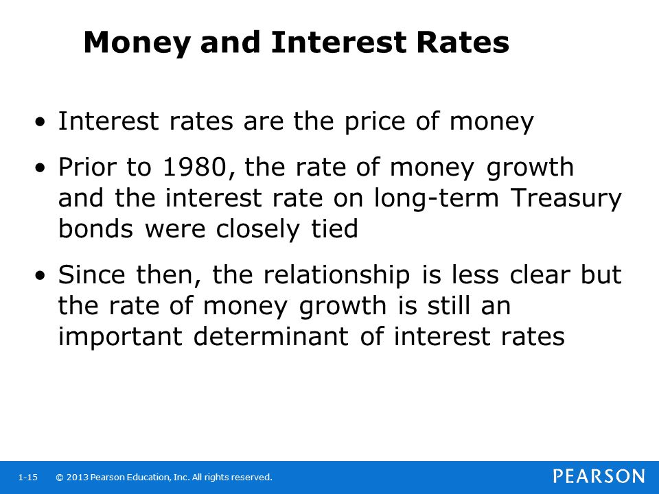 Money and Interest Rates