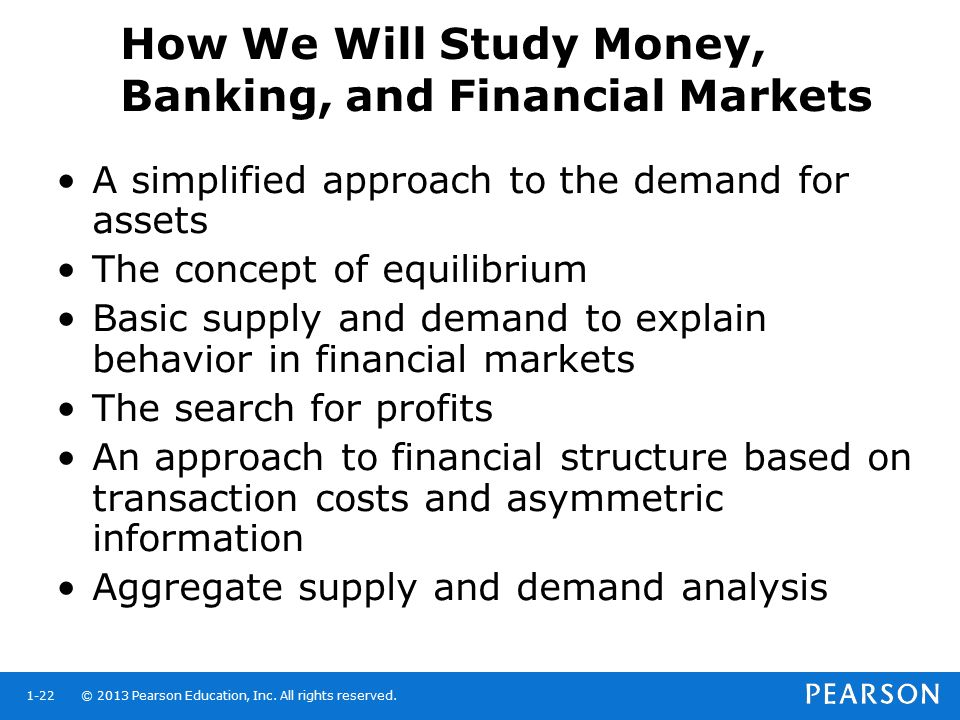 How We Will Study Money, Banking, and Financial Markets