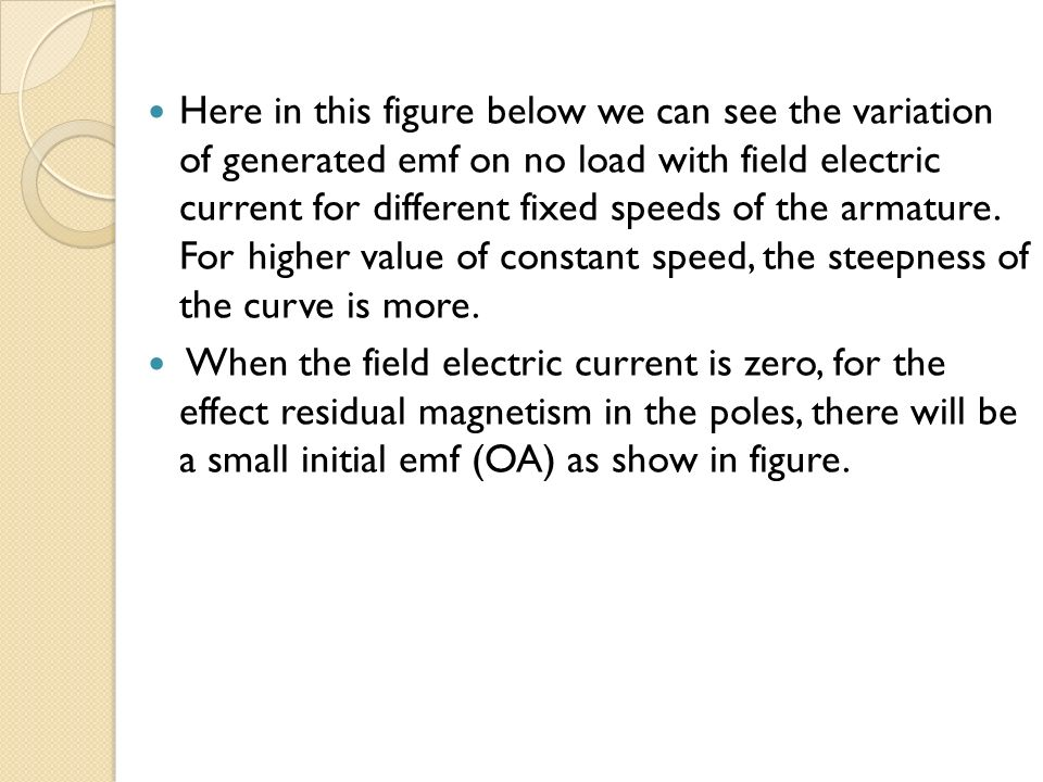 OPERATING CHARACTERISTICS OF DC GENERATOR - ppt video online