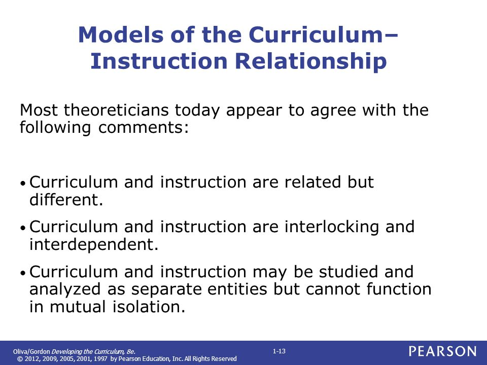 Curriculum And Instruction Models - User Guide Manual That Easy-to ...