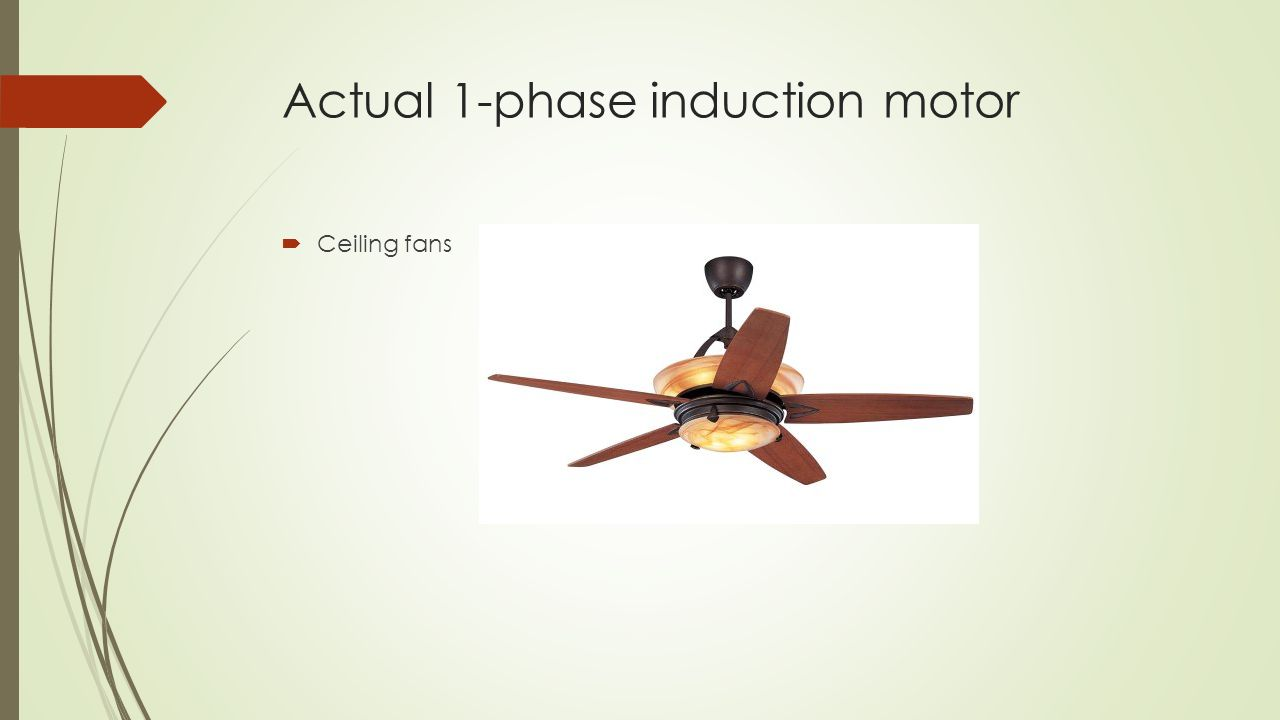 Single Phase Induction Motor Ppt Download Shaded Pole Wiring Diagram Actual 1