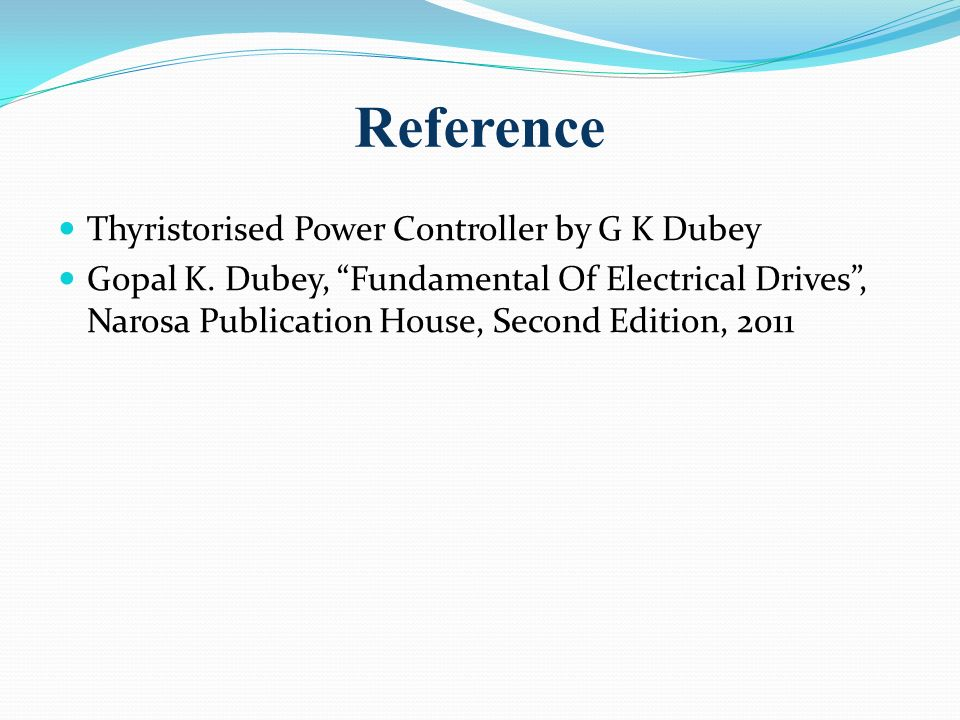 Gk Dubey Fundamentals Of Electrical Drives Pdf