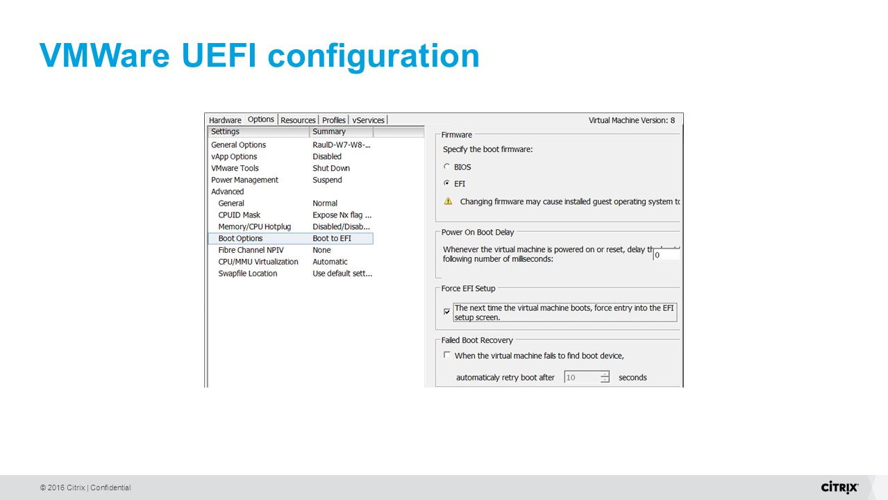 PVS 7 7 UEFI Boot Implementation and Troubleshooting - ppt