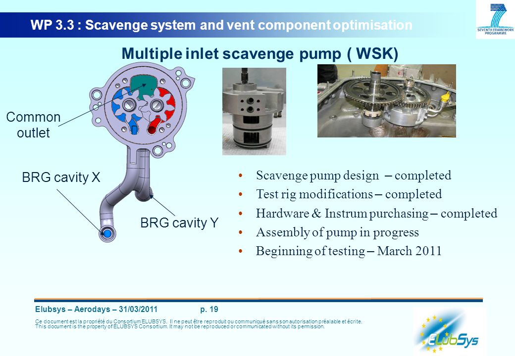 Multiple inlet scavenge pump ( WSK)