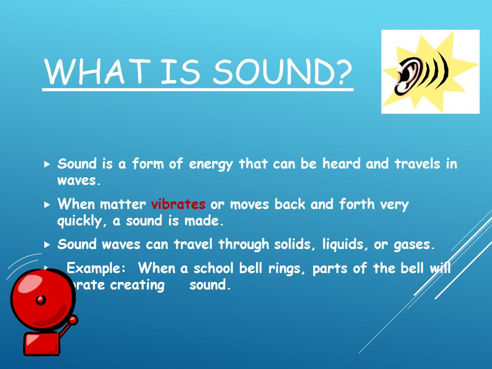 Sound Energy  - ppt video online download