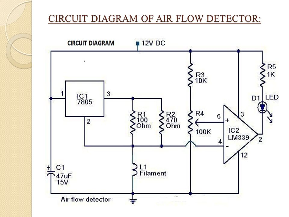 rain alarm with air flow detector ppt video online download rh slideplayer com Air Flow Diagram Ball Air Flow Diagram in Human
