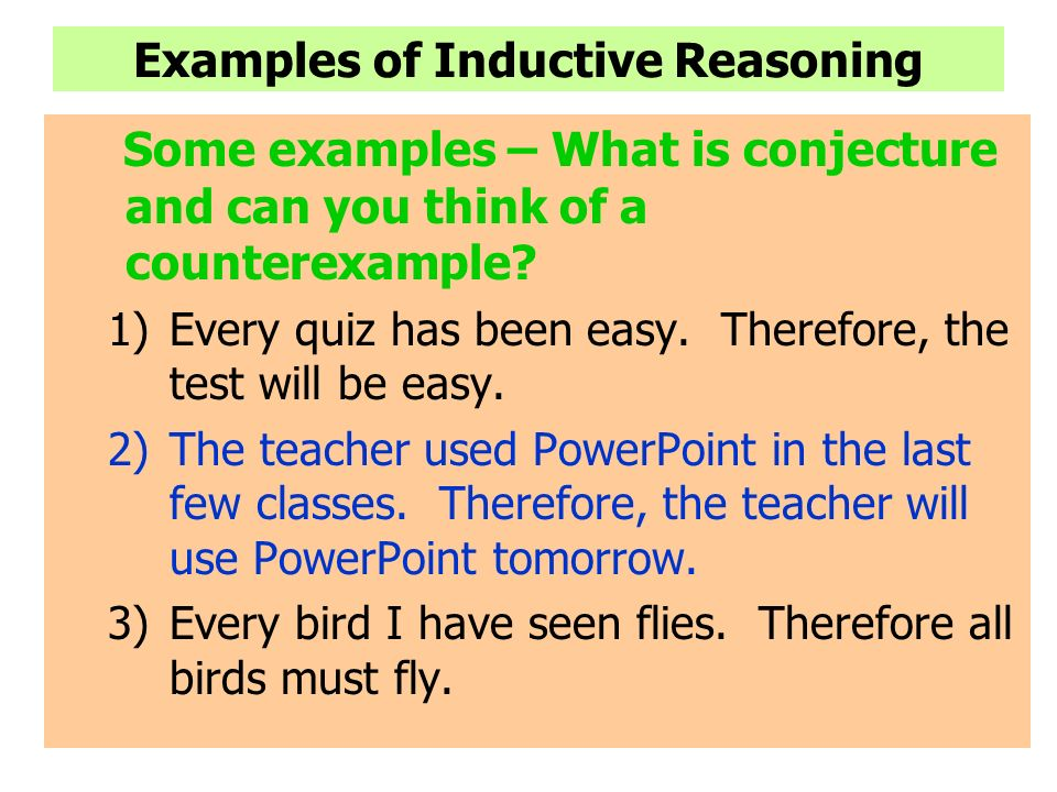 Deductive reasoning: examples & definition video & lesson.