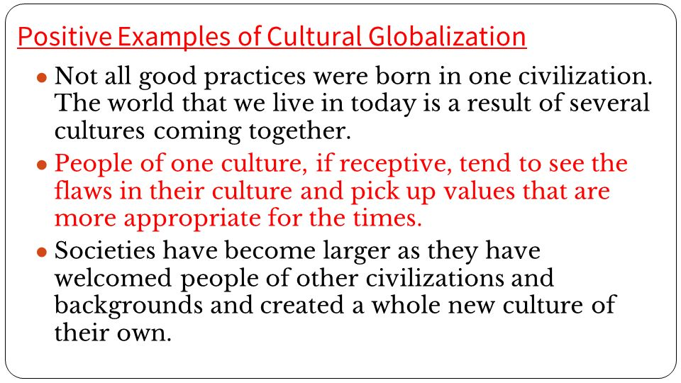 Cultural Globalization Ppt Video Online Download