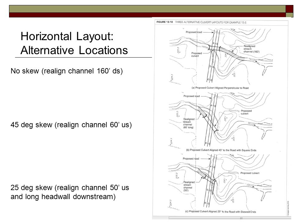 CTC 261 Hydraulics Culvert Design - ppt video online download