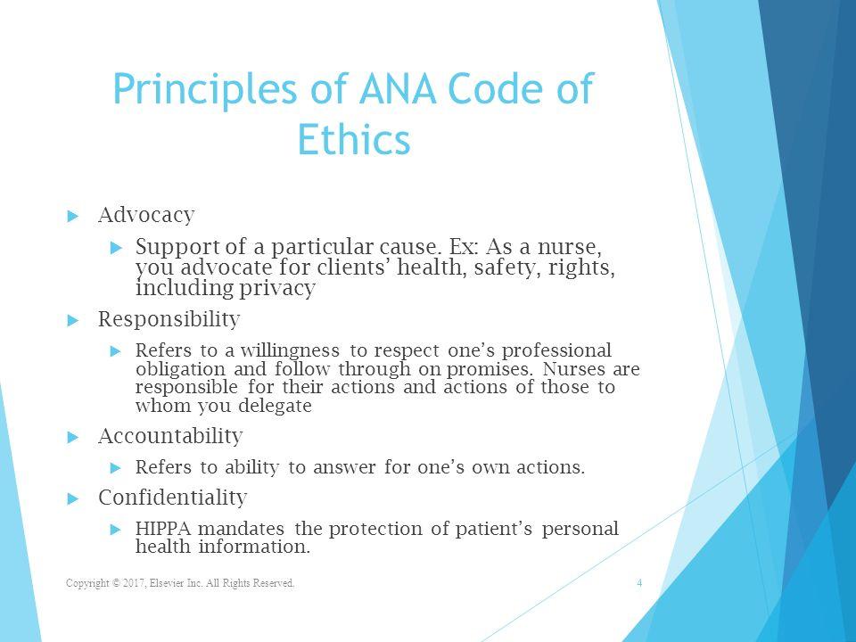 Code ethics nurse of The Code