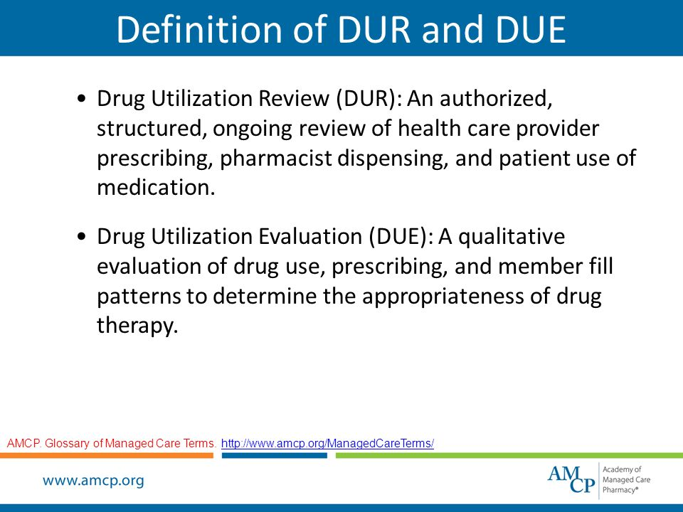 Drug Utilization Review & Drug Utilization Evaluation: An Overview ...