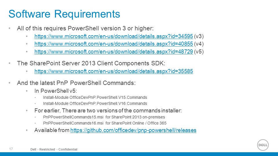 SharePoint Online and PowerShell? - ppt video online download