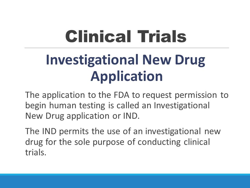 Clinical Trials  - ppt video online download