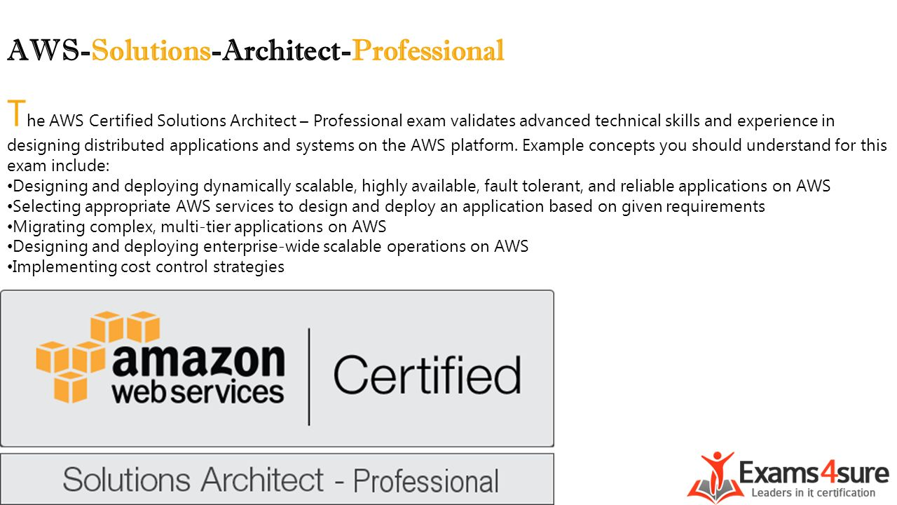 Aws Solutions Architect Professional Ppt Video Online Download