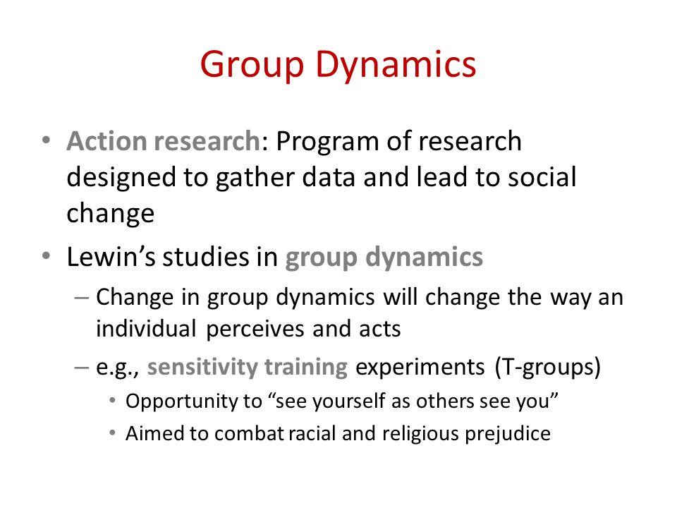 group dynamics in social psychology pdf