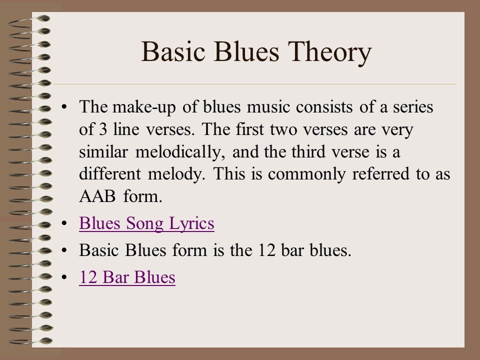 Lyric blues songs lyrics : Have you heard Blues music before? - ppt download