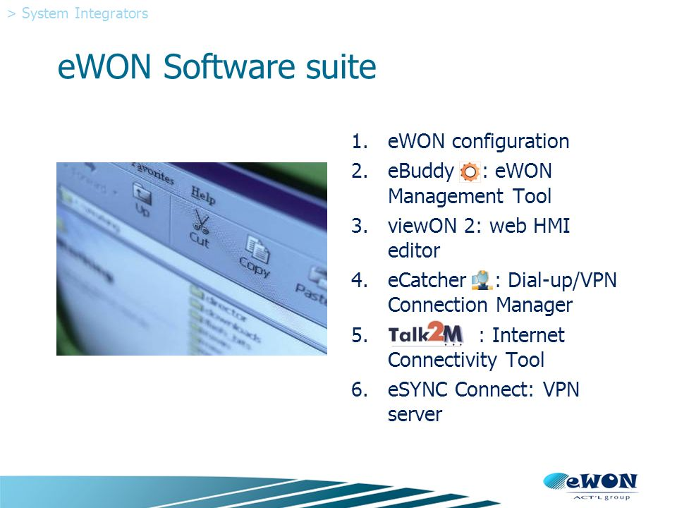 A practical look at what eWON can do for your customer
