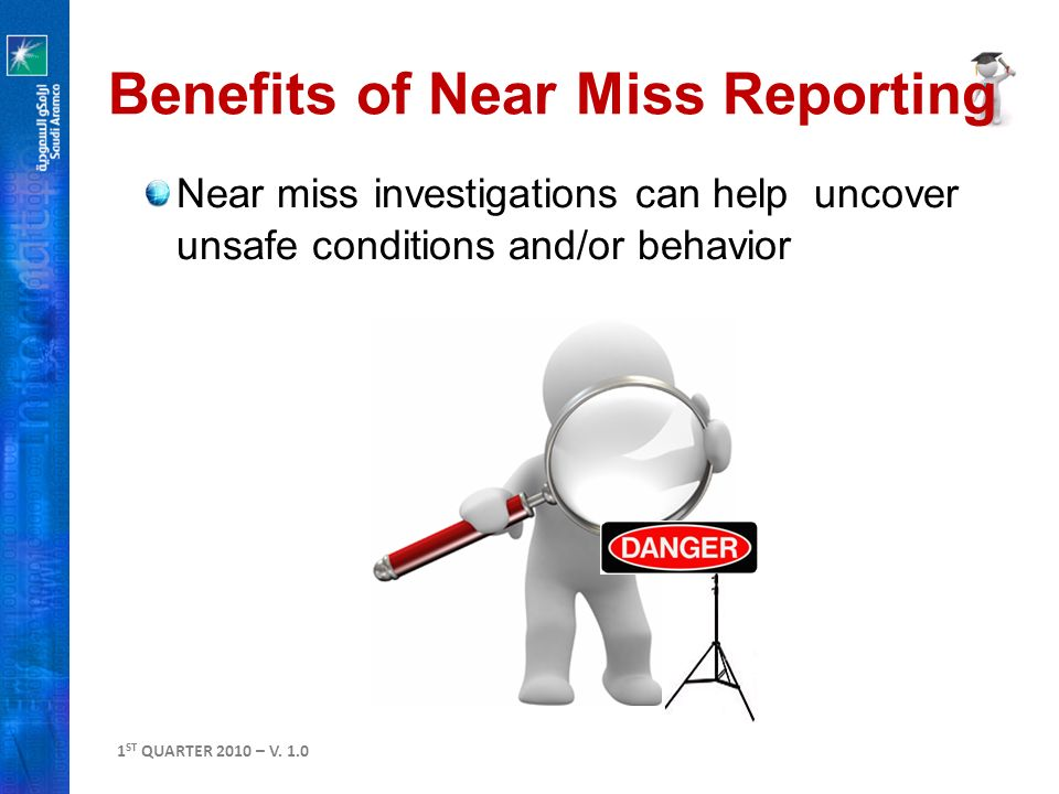 near miss reporting community services