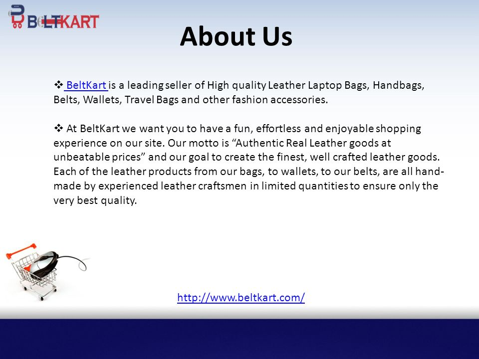About Us BeltKart is a leading seller of High quality Leather Laptop Bags 1c0212f7f278e