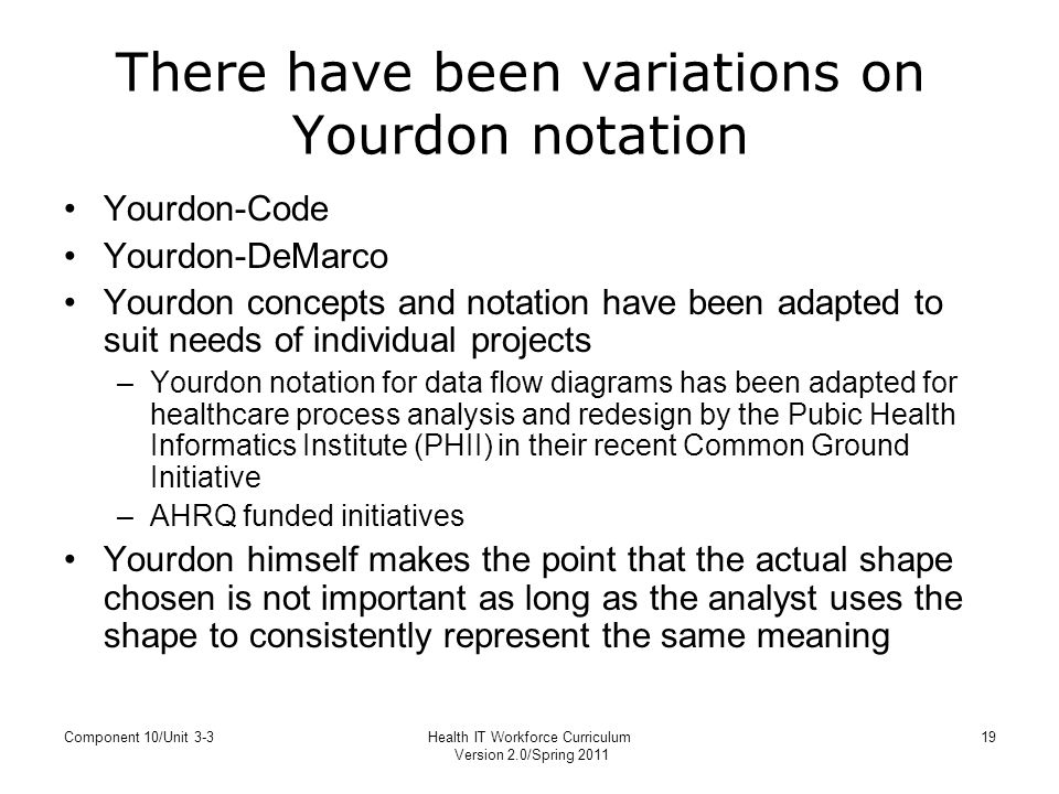 Unit 3 3 process mapping yourdon notation for data flow diagrams there have been variations on yourdon notation ccuart Choice Image