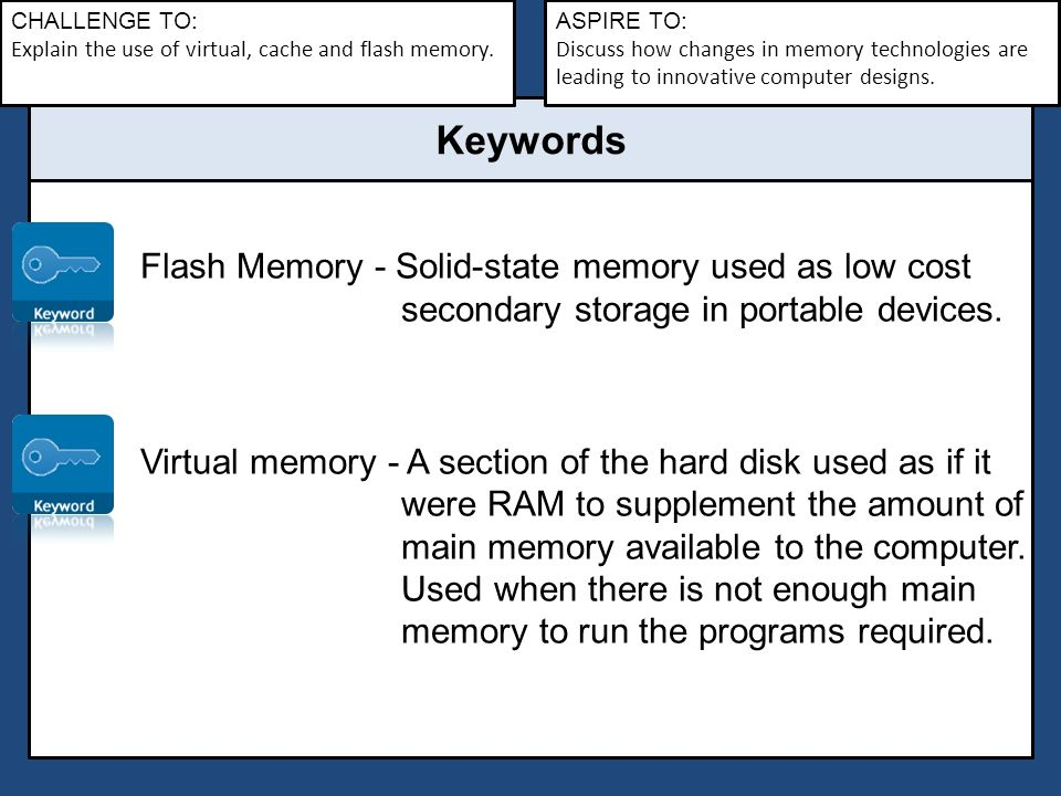 Lesson 4 – Cache, virtual and flash memory - ppt video online download
