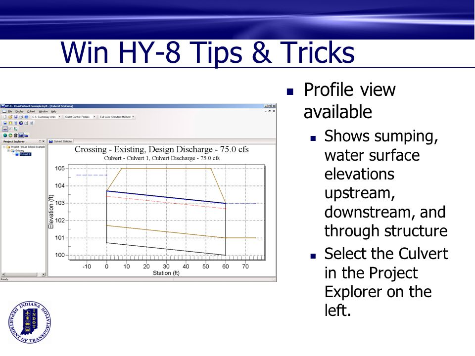 Hydraulic Culvert Design And Hy 8 Ppt Video Online Download