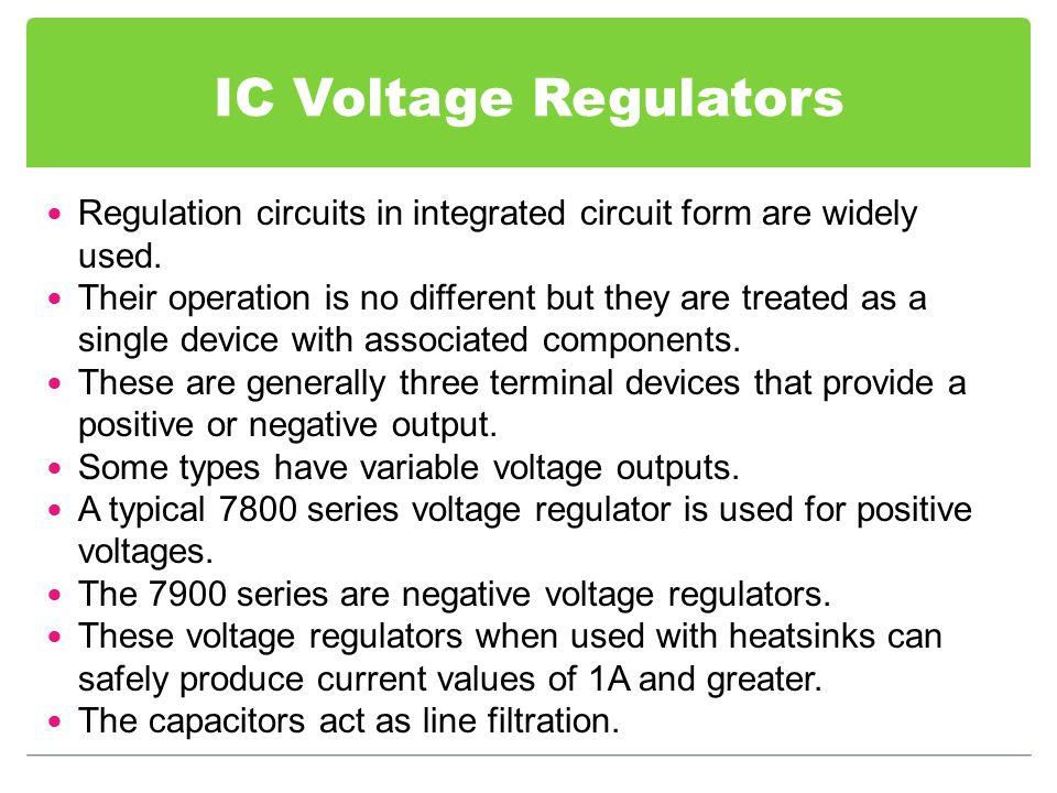 variable voltage regulator ic