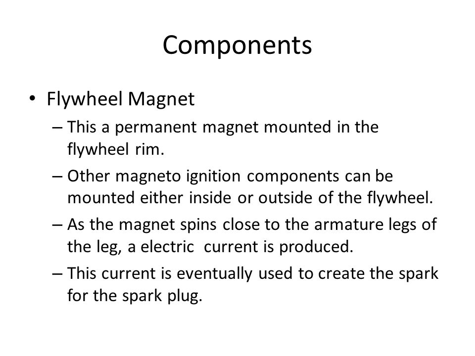 Small Engine Ignition Systems - ppt video online download