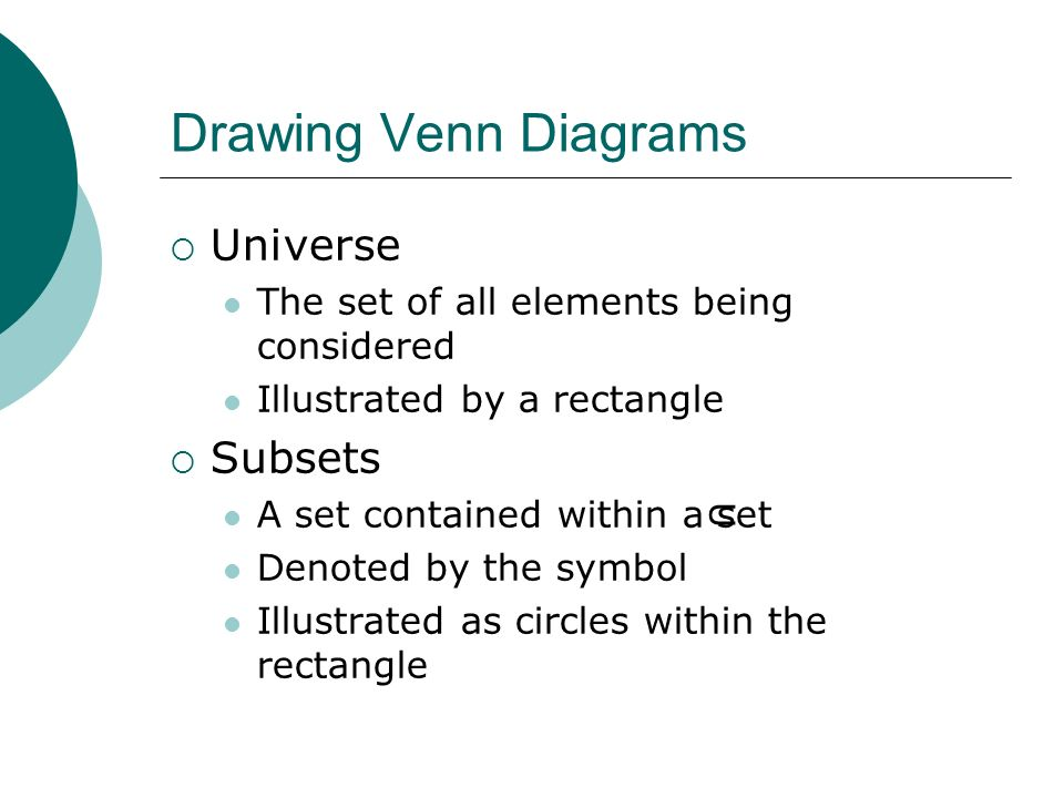 Sets And Operations Tswbat Apply Venn Diagrams In Problem Solving